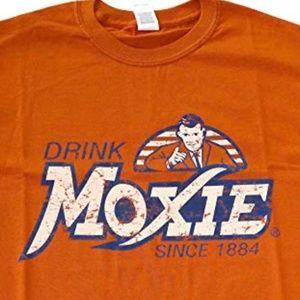 """*3/$30** Vintage """"Drink Moxie"""" Tee"""